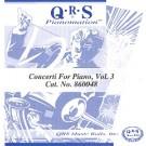 Concerti For Piano, Vol. 3